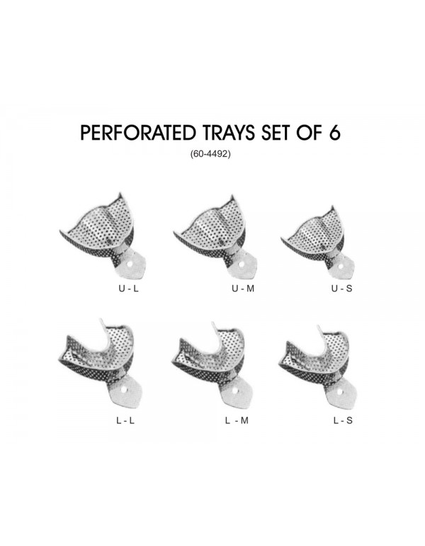 Stainless Steel Dental Impression Trays Stainless ...