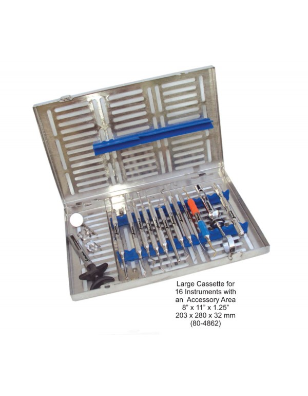 Stainless Steel Dental Instruments Cassette Large ...